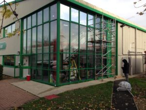 Commercial Safety Window Film